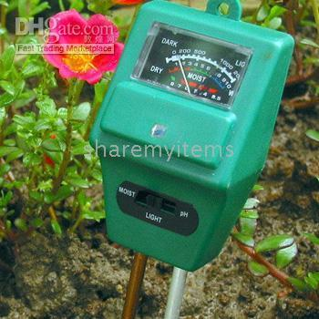soil ph moisture meter - 3 in Hydroponic Soil Moisture Light PH Meter Tester