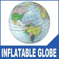 Wholesale Freeship quot Inflatable World Globe Classroom Beach Pool Ball