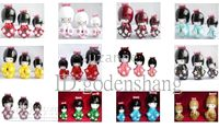 Wholesale of pc sets Japanese Kokeshi wooden dolls D3