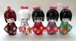 Wholesale Oriental Japanese Kokeshi dolls wooden