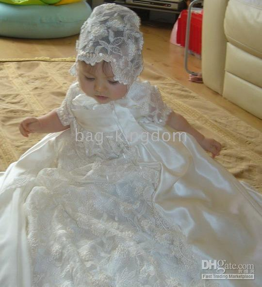 Wholesale Princess for baby christening Birthday dress Custom Made EL6u2J6k6F3rB