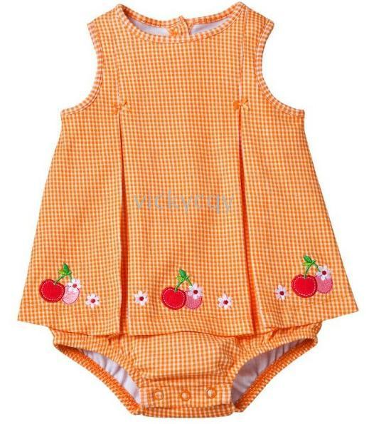Wholesale New Arrival Mixed short sleeve Bodysuits Oneises Romper girls babysuit Rompers Baby pajama ZW843