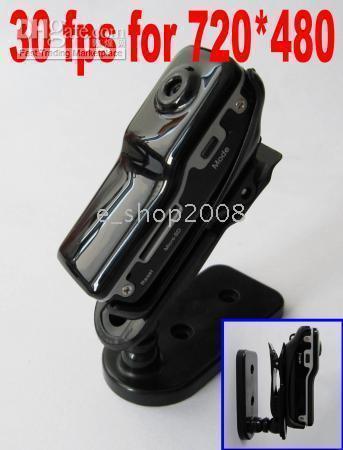 Wholesale 720x480 FPS MD80 spy DV DVR Sport Video Camera webcam with tf card slot