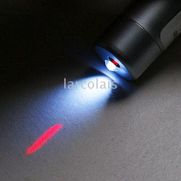 20-Pack Red Laser Pointer KeyChain with 1 LED FlashLight LQFL1713