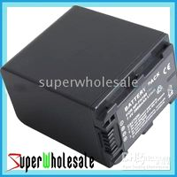 Wholesale 500pcs NP FH100 Battery for SONY DCR DVD505 DVD508 DVD605 HC18