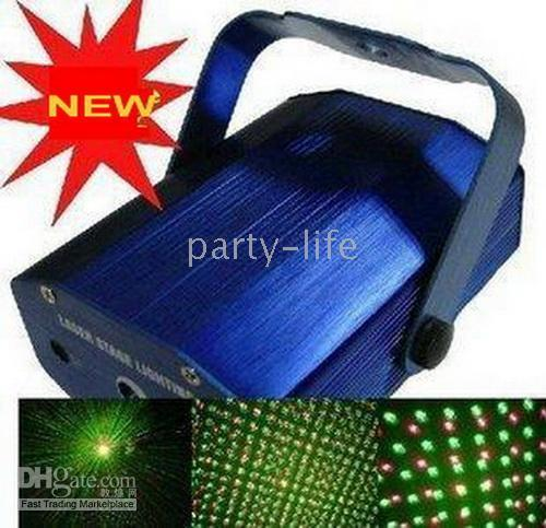 Wholesale Green Red Laser Star Projector Light DJ Club Party Stage Lighting Lights