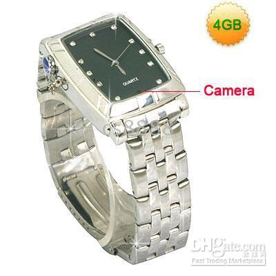 Wholesale New GB Spy Watch Pinhole Camera K Pixels Working Hours Continously Max Built in Li Battery