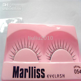 Wholesale 50 pairs Natural STYLE FALSE EYELASHES WITH Diamond FREE GLUE BRAND NEW We accept mix order