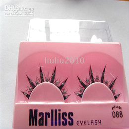 Wholesale 50 pairs Pretty Fantasy Party False Eyelashes with white pearls BRAND NEW We accept mix order