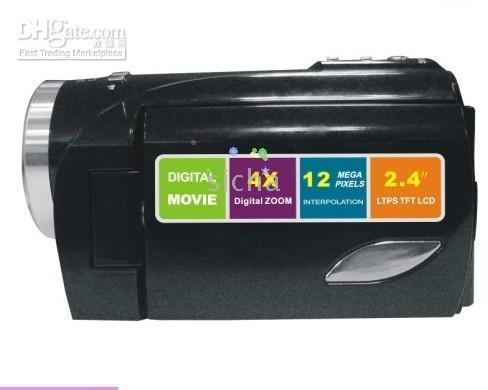 Wholesale 1pcs Digital Video Camcorder Mega Pixels MP CMOS X Digital Zoom