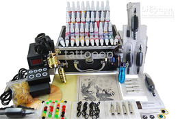 Wholesale Professional Rotary Tattoo Kits Machine gun Inks From Tattoooo