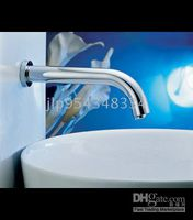 Wholesale Wall Mounted Automatic Faucet Commercial Faucet Vessel Sink Faucet Lavatory Faucet automatic mixer