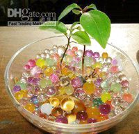 Wholesale Flower Crystal Mud Soil Water Beads for Flowers and Plants