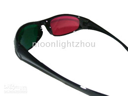 50 pcs lot 3D Glasses Red-green For Video DVD Movie & Game movies 010