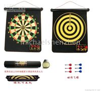Wholesale Double sided Magnetic DARTBOARD with DARTS CM CM