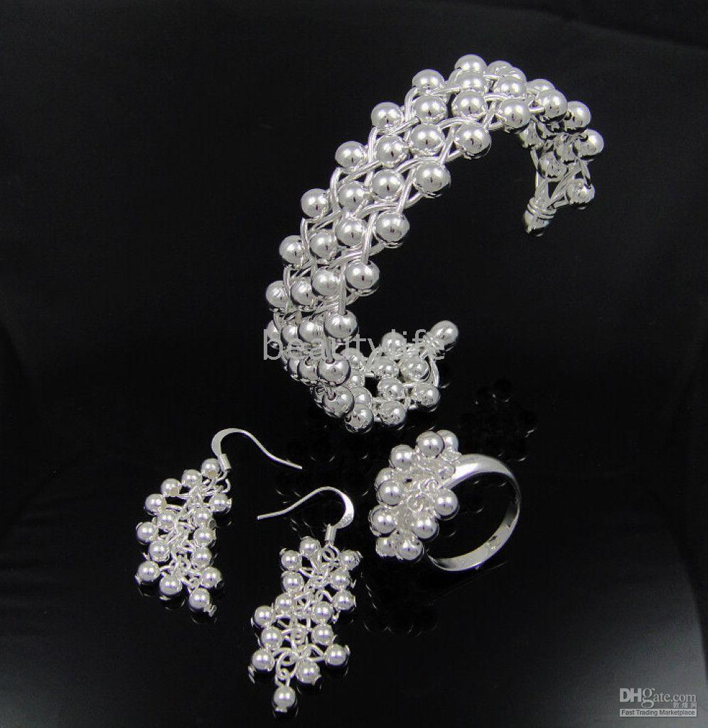 Wholesale Earring ring Bracelets Support mixed batch Hk post
