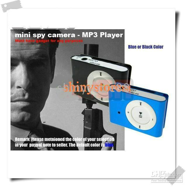 Wholesale 4GB mp3 player music spy cam dv dvr video camera ccd camcorder