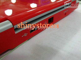 Wholesale- Hot sale-Red color 7 inch Mini Netbook Laptop Notebook 2GB WIFI windows ce 6.0 Netbook PC