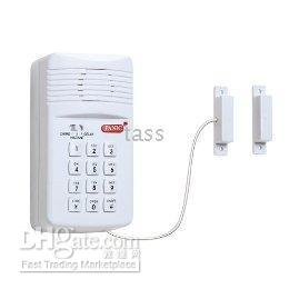 battery door alarms - SECURE PRO Key Pad Door Window Alarm System Wireless Battery Operated