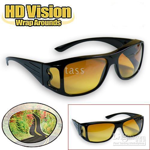 achat en gros de lunettes de soleil hd wrap-HD Haute Définition Vision Driving Wrap Around Lunettes de soleil Wraparounds Lunettes