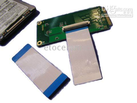Wholesale 10pcs New CE ZIF LIF to Mini PCI e PCIe Adapter Coverter