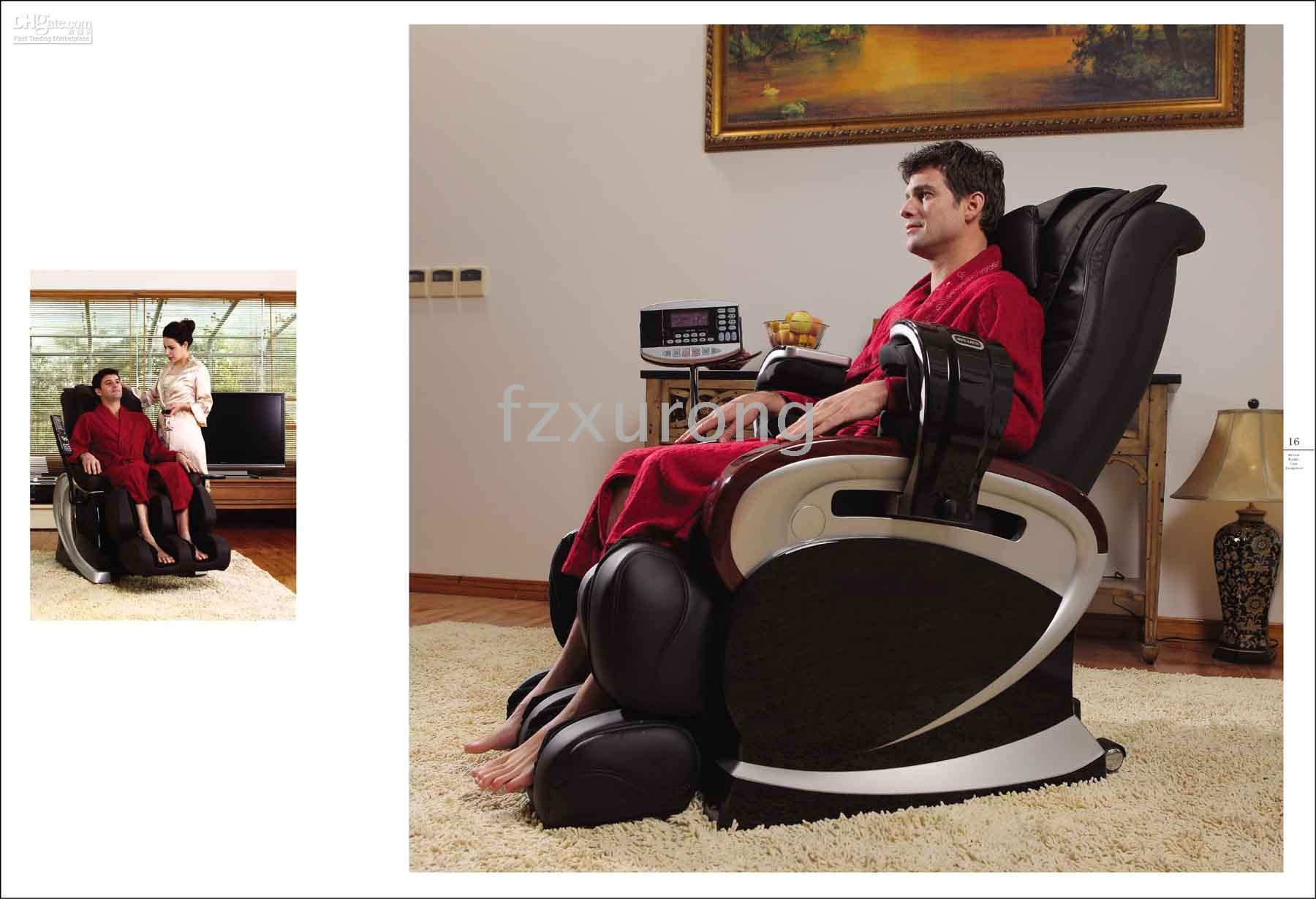 Wholesale The Best Price and Service Low shipping Deluxe Multi Function Massage Chair RE L06B