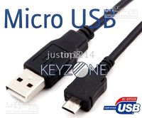 Wholesale Free Ship Micro USB Data Cable for DARE BB Storm LG enV2 PRE