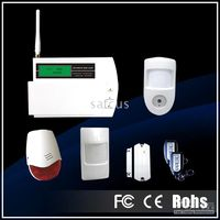 Wholesale GSM Alarm system with LCD display supporting Motion Video Camera Quad band Surveillance Security