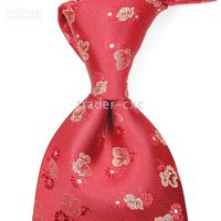 Wholesale flower men s ties neck Ties formal necktie Factory men s tie neckties cravat