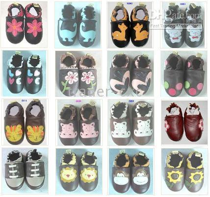 Wholesale baby first walker shoes Children s Shoes baby shoes cowhide baby shoe Multi color catoon