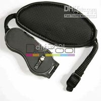 Wholesale Digital Camera SLR Hand Strap Grip for Canon Nikon Sony black new hot