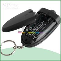 Wholesale LED Alcohol Breathalyzer Breathalizer Breath Tester mini black new hot