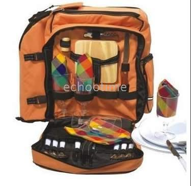 Wholesale 4pcs Brand new Picnic Bag with Ice packs cooler bag for People