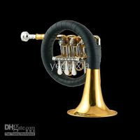 Wholesale New Rotary Vales Gold Bb Post Horn