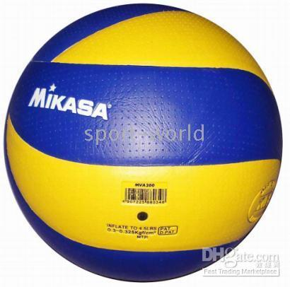 Wholesale New MIKASA Volleyball MVA Soft Touch PU Game Ball Offical Size with top quality