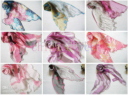 spring summer Ladies fashion Rayon silk girls scarves Womens scarf SCARF 12pcs lot new