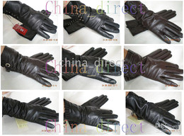 Womens Real Leather Gloves skin gloves LEATHER GLOVES 25pairs lot New Design High quality #1345