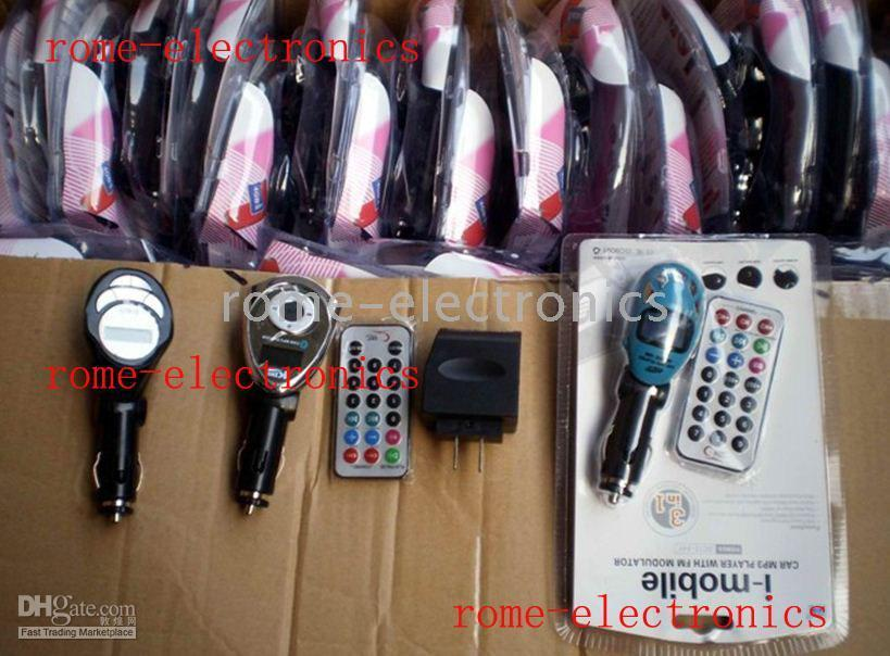 Wholesale Car kit MP3 Foldable FM Transmitter by ems