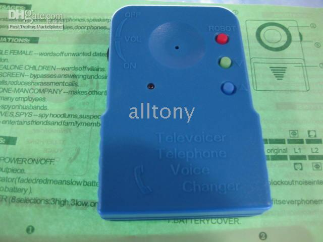 Wholesale alltony Handheld Voice Changer Portable Mobile Phone Telephone