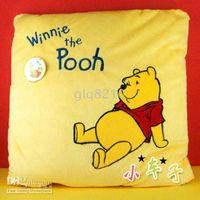 Wholesale NEW Super soft car pillow cushion Winnie the Pooh cartoon pillow cars jewelry Sofa pillow