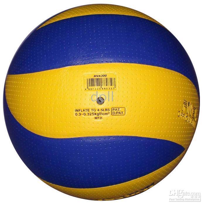 Wholesale 20pcs MIKASA MVA300 volleyball PVC leather soft touch good quality