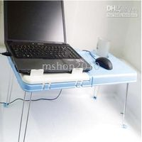 Wholesale Folding computer desk Folding Laptop Notebook Bed Table Desk Stand