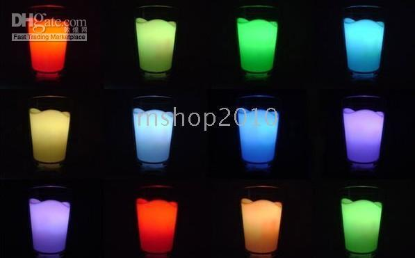 Wholesale 5PCS Milk Glass Cup LED Night Light Lamp Cow Cute Gift New Arrival DORP SHIPPING Q1