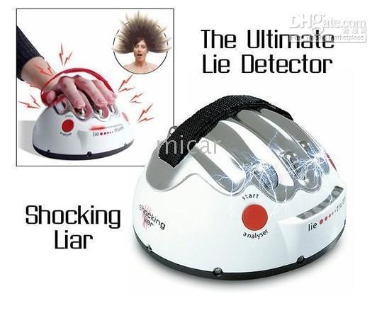 Wholesale Electric Shock Lie Detector Shocking Liar Game