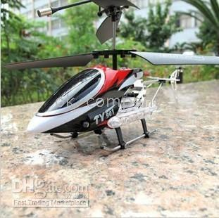 Wholesale 10 psc CH RC Helicopter Remote Control Helicopters Channel TY901