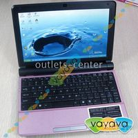 Wholesale Five colors inch S30 Notebook Atom Yellow Pink White Red Black Intel VAIO Free Software Laptop