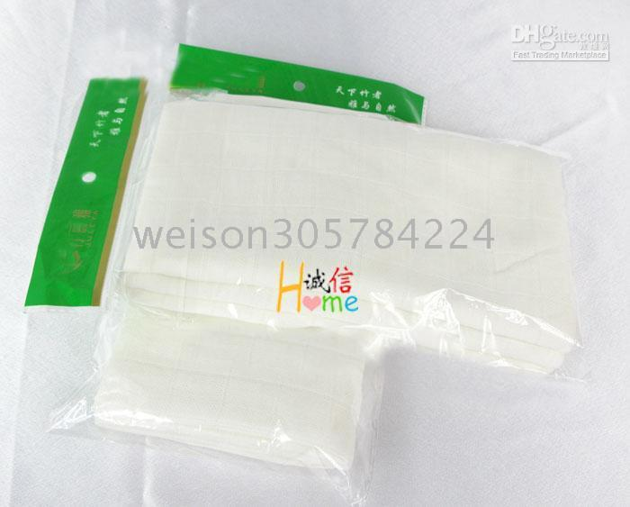 Wholesale 2010 Hot sales High quality bamboo fibre baby diaper napkin loop towel facecloth