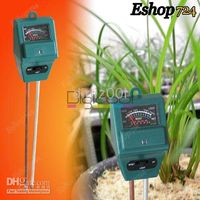 Wholesale Hydroponic Plants Soil Plant Flower Moisture Tester PH Light Meter in new hot