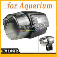 Wholesale Digital LCD Feeding Aquarium Automatic Tank Auto Fish Food Feeder Timer New Hot