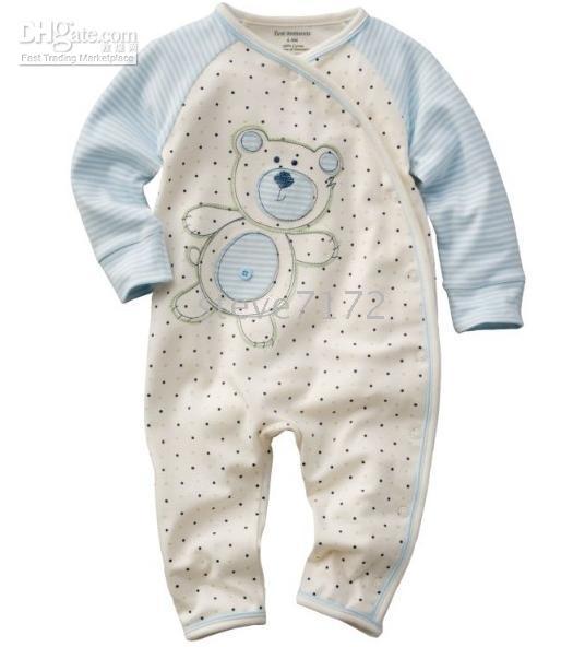 baby toddler sleepwear underwear - Baby rompers pyjamas underwear jumpers pjs toddler romper bodysuit sleepwear onesies jumpsuit ZW124
